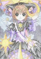CardCaptor Sakura in Black by cowgirlem
