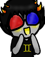 My Pervy Little Sollux. by Tammiikat