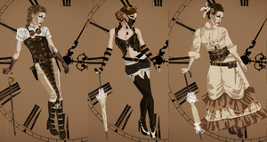 Steampunk- Not that hard... by ForbiddenObsession