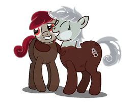 Coke Pony Hug by creepycurse