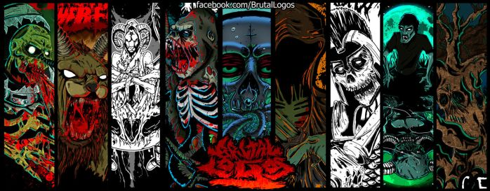 Brutal Logos T artwork by PiTY91