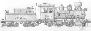 F and D 2-4-2 by simulatortrain
