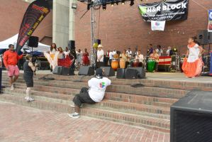 Puerto Rican/Latin Festival, Dancing To Bongos3 by Miss-Tbones