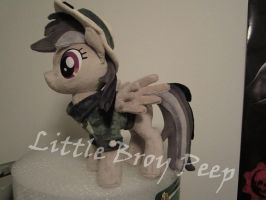 my little pony Daring do (commission) by Little-Broy-Peep