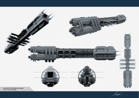 WIP - Trois Rivieres Destroyer by GlennClovis