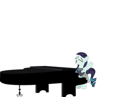 Rara at Piano by Aethon056