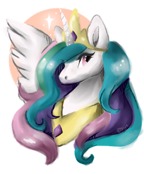 Princess Celestia by BelovedFoxx