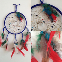 Homemade Native American Dream Catcher by OdieFarber