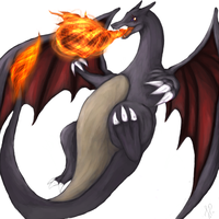 Charizard used Flamethrower by FieryWithin