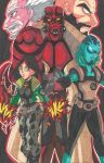 Hellboy: Beware of the right hand of Doom by d13mon-studios