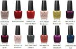 New OPI Nail Polish Collection- 'German' Version by WorldUnitedInMusic