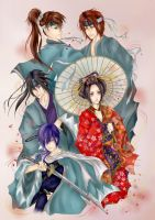Hakuouki Shinsengumi Kitan by paper-and-stars