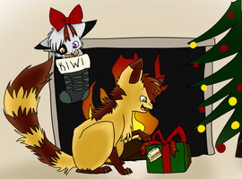 Present for Kiwitiger by Nixhil