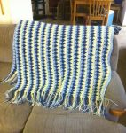 Larksfoot Stitch Afghan by Alicia1018