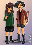 2013 :: Daria and Jane by PinkAppleJam