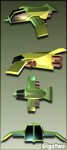 Low poly spaceship by gigatwo