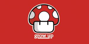 Mario Mushroom - Red by bamjamble