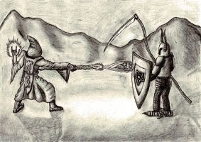 The Duel by Maslord