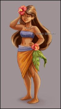 Moana by IreneMartini