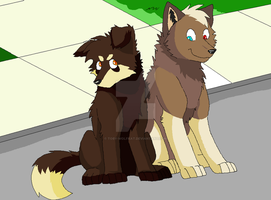Shannon and Toby by Toby-Wolfkat