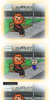 hobo dad? by TeamRavers
