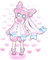 sylveon gijinka adopt AUCTION {CLOSED} by PikoRuu