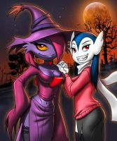 Sisters in the night by goliath18