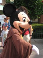 Jedi Mickey by Vampire-Sacrifice