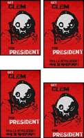 Get Clem - Warframe Election Posters by LamboMan7