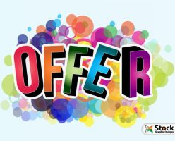 Offer Vector Poster by Stockgraphicdesigns