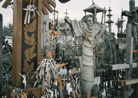 Hill of Crosses in Lithuania 2 by ZNZtazmanijus