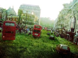 London Overgrown by accelerazr