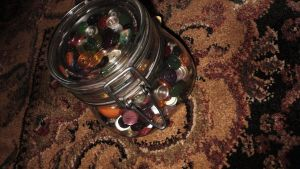 Jar of Buttons by Poet-Gambit