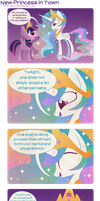 New Princess in Town by Foxy-Noxy