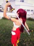 Erza Scarlet (Japanese cloth) Fairy Tail cosplay by AnitramNoriko