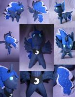 Princess Luna Collage by Tsvorla