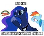 Luna Has Doubled the Rainbows! by PinkiePizzles