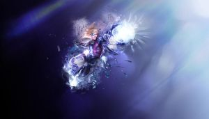 Pulsefire Ezreal Wallpaper by Olivieroz