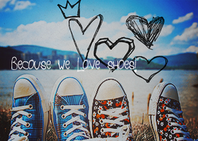becouse we love shoes by kropka-dot