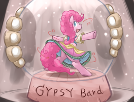 [Art From Song] The Gypsy Bard by vavacung