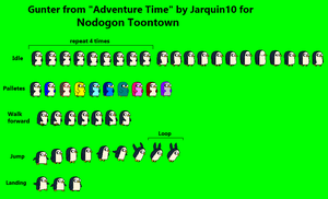 Gunter sprites by Jarquin10