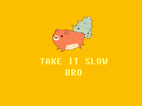 Take it Slow, Bro... by WhoAteMyEggo