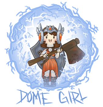 URealms Live: Dome Girl by Pandas-R-Us