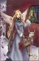 Christmas Angel 2005 by StarMasayume
