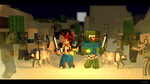 [Request] Fighting Mobs BDCraft Style by Deku-Gamer-DA