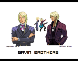 Gavin Brothers Sprites by sour-mints