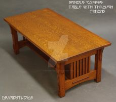 Spindle through tenon table by DryadStudios