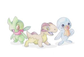 New Starters by GregAndrade