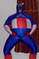 Inflated Captain America by rumpuboy4