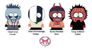 MudVayne in South Park Style by Shady-Lurker